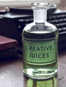 Bottle of Creative Juices