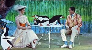 Penguin scene Mary Poppins